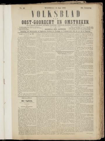 (Volksblad) Oost-Goorecht en Omstreken nl 1892-06-15