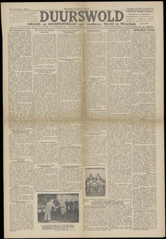 Nieuws- en Advertentieblad, Duurswold nl 1943-01-09