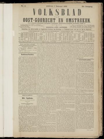 (Volksblad) Oost-Goorecht en Omstreken nl 1892-02-07
