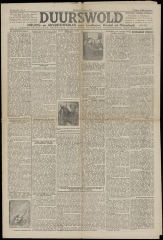 Nieuws- en Advertentieblad, Duurswold nl 1943-02-06