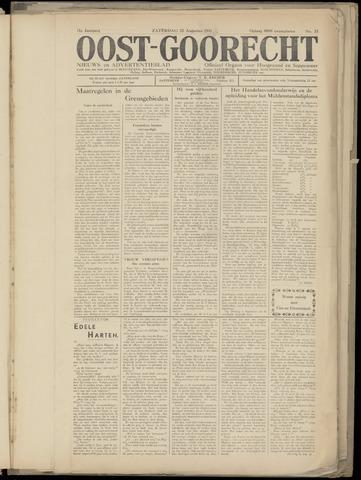 (Volksblad) Oost-Goorecht en Omstreken nl 1941-08-20