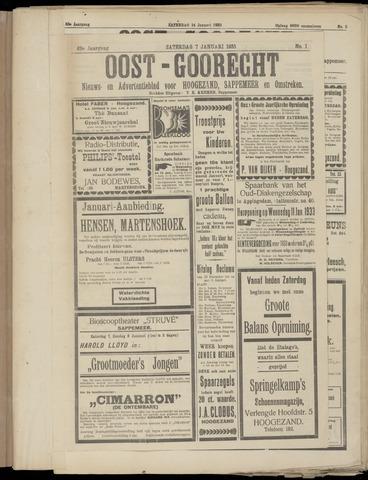 (Volksblad) Oost-Goorecht en Omstreken nl 1933-01-07