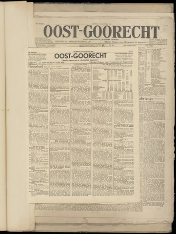 (Volksblad) Oost-Goorecht en Omstreken nl 1945-09-22