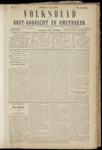 (Volksblad) Oost-Goorecht en Omstreken nl 1892-06-05
