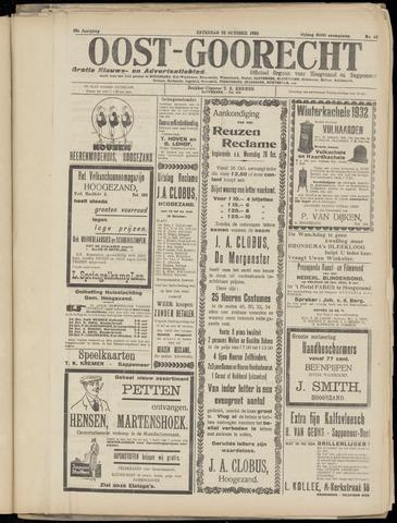 (Volksblad) Oost-Goorecht en Omstreken nl 1932-10-22