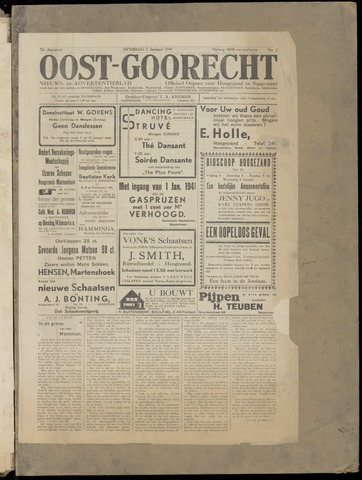 (Volksblad) Oost-Goorecht en Omstreken nl 1941