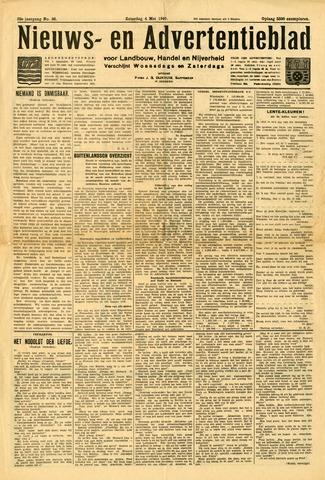 Nieuws- en Advertentieblad, Sappemeer nl 1940-05-04