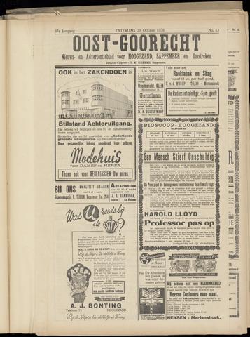 (Volksblad) Oost-Goorecht en Omstreken nl 1938-10-29