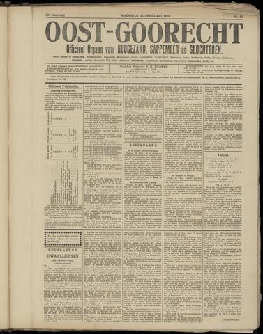 (Volksblad) Oost-Goorecht en Omstreken nl 1921-02-23