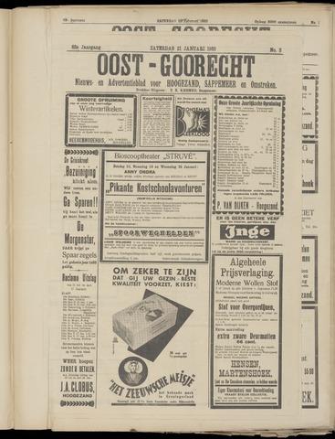 (Volksblad) Oost-Goorecht en Omstreken nl 1933-01-21