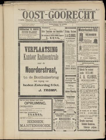 (Volksblad) Oost-Goorecht en Omstreken nl 1932-10-08