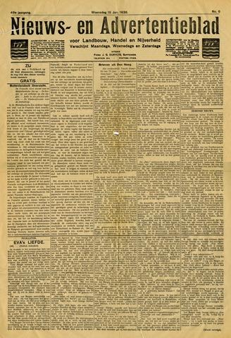 Nieuws- en Advertentieblad, Sappemeer nl 1936-01-15