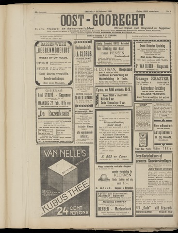 (Volksblad) Oost-Goorecht en Omstreken nl 1933-02-25