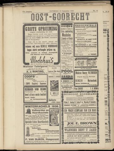 (Volksblad) Oost-Goorecht en Omstreken nl 1938-09-10
