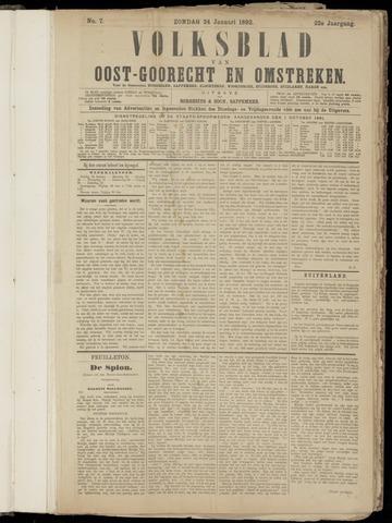 (Volksblad) Oost-Goorecht en Omstreken nl 1892-01-24