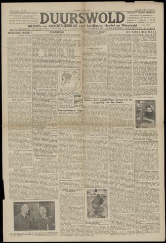 Nieuws- en Advertentieblad, Duurswold nl 1943-05-15