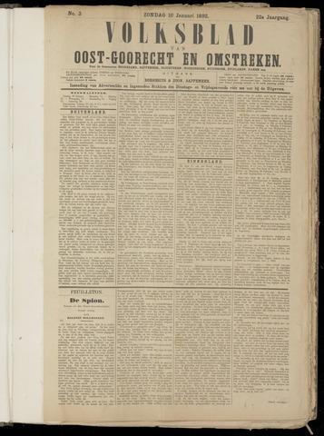 (Volksblad) Oost-Goorecht en Omstreken nl 1892-01-10