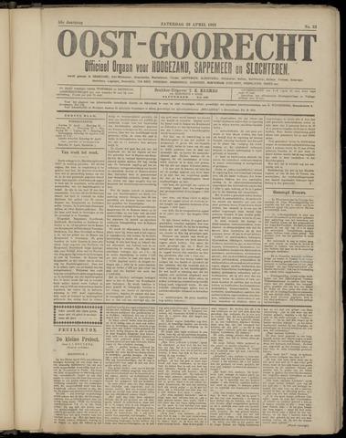 (Volksblad) Oost-Goorecht en Omstreken nl 1921-04-23