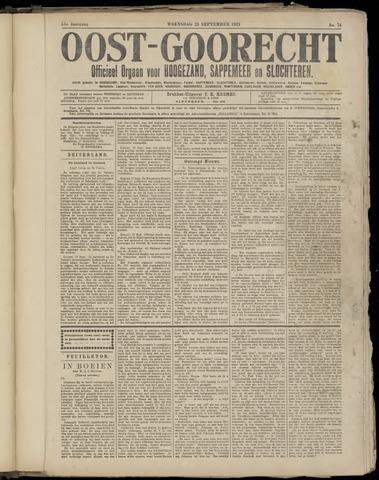 (Volksblad) Oost-Goorecht en Omstreken nl 1921-09-21