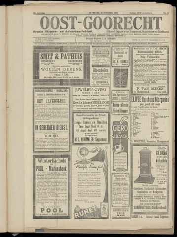 (Volksblad) Oost-Goorecht en Omstreken nl 1926-10-23