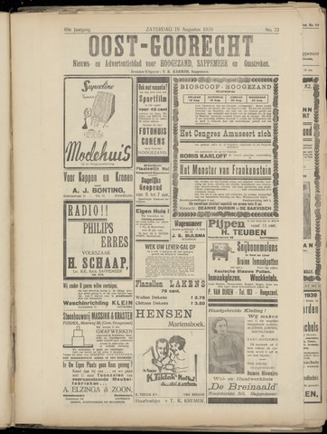 (Volksblad) Oost-Goorecht en Omstreken nl 1939-08-19