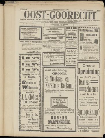 (Volksblad) Oost-Goorecht en Omstreken nl 1932-11-05