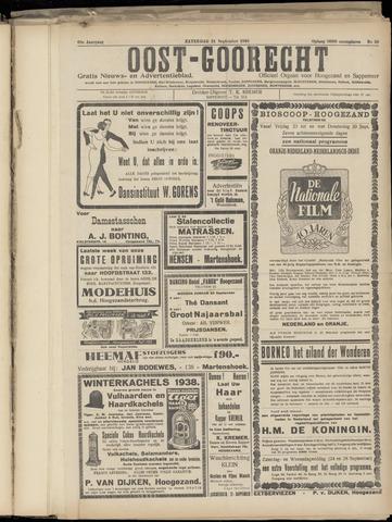 (Volksblad) Oost-Goorecht en Omstreken nl 1938-09-24