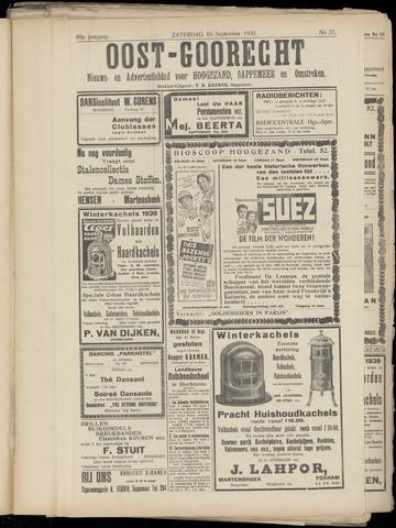 (Volksblad) Oost-Goorecht en Omstreken nl 1939-09-16