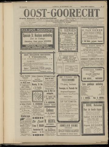 (Volksblad) Oost-Goorecht en Omstreken nl 1924-11-22