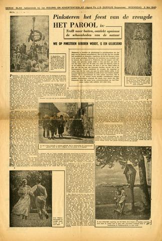 Nieuws- en Advertentieblad, Sappemeer nl 1940-05-08