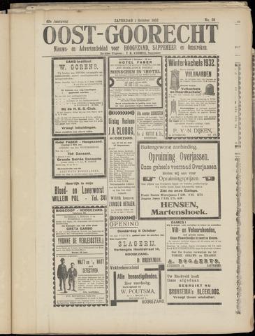 (Volksblad) Oost-Goorecht en Omstreken nl 1932-10-01