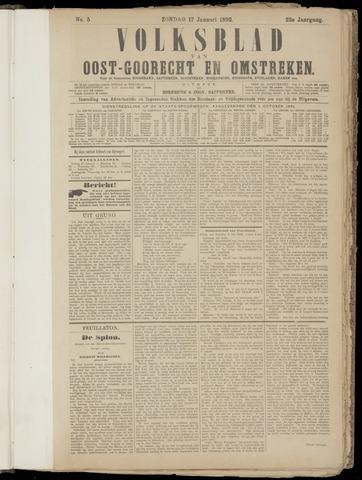 (Volksblad) Oost-Goorecht en Omstreken nl 1892-01-17