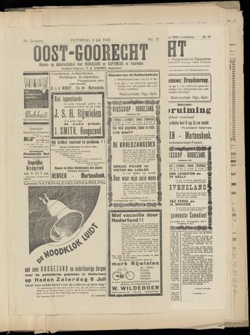 (Volksblad) Oost-Goorecht en Omstreken nl 1940-07-06