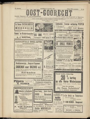(Volksblad) Oost-Goorecht en Omstreken nl 1937-11-13