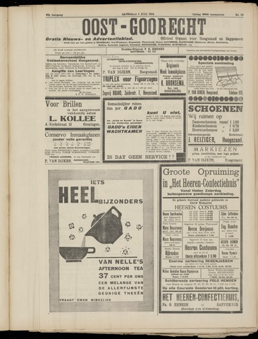 (Volksblad) Oost-Goorecht en Omstreken nl 1933-07-01