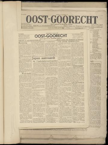 (Volksblad) Oost-Goorecht en Omstreken nl 1945-08-15
