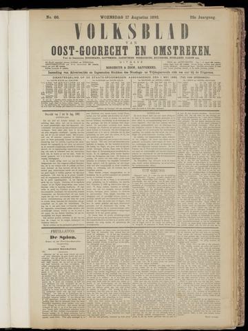 (Volksblad) Oost-Goorecht en Omstreken nl 1892-08-17