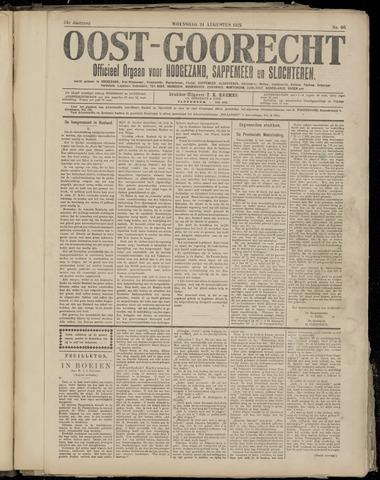 (Volksblad) Oost-Goorecht en Omstreken nl 1921-08-24
