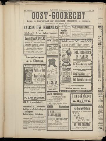 (Volksblad) Oost-Goorecht en Omstreken nl 1939-09-23