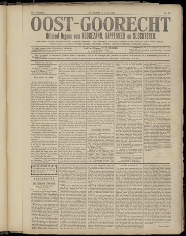 (Volksblad) Oost-Goorecht en Omstreken nl 1921-07-02