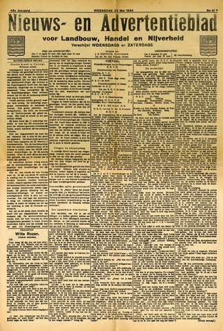 Nieuws- en Advertentieblad, Sappemeer nl 1934-05-23