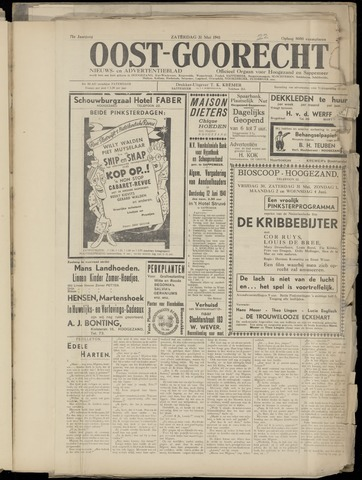 (Volksblad) Oost-Goorecht en Omstreken nl 1941-05-28