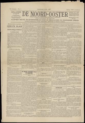 Nieuws- en Advertentieblad, De Noord-Ooster nl 1936-01-06