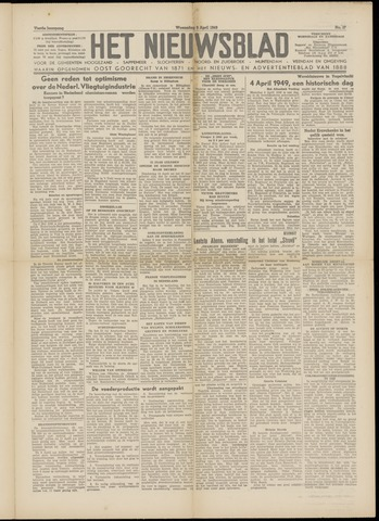 Het Nieuwsblad nl 1949-04-06