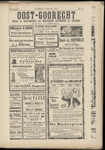 (Volksblad) Oost-Goorecht en Omstreken nl 1937-09-04