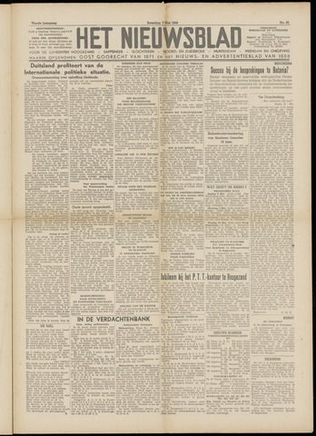 Het Nieuwsblad nl 1949-05-07