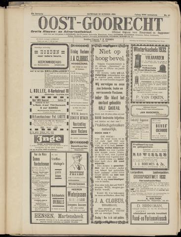(Volksblad) Oost-Goorecht en Omstreken nl 1932-10-29