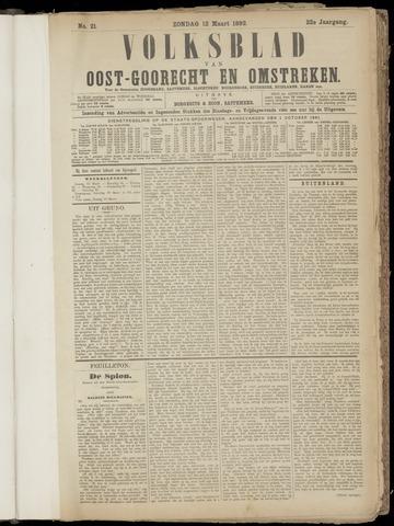 (Volksblad) Oost-Goorecht en Omstreken nl 1892-03-13