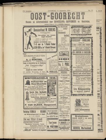 (Volksblad) Oost-Goorecht en Omstreken nl 1938-09-17