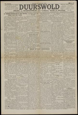 Nieuws- en Advertentieblad, Duurswold nl 1944